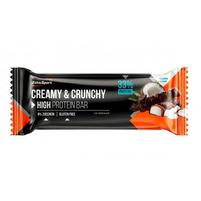 Ethicsport Creamy & Crunchy protein szelet