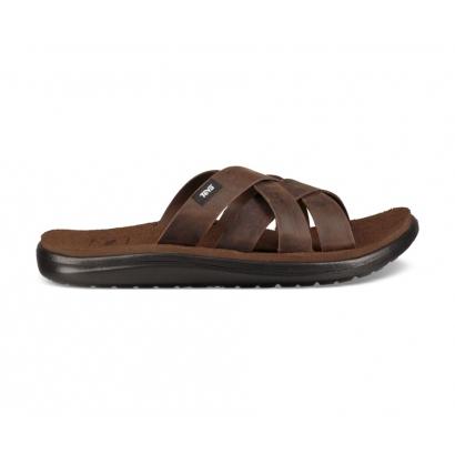 Teva Voya Slide Leather férfi papucs