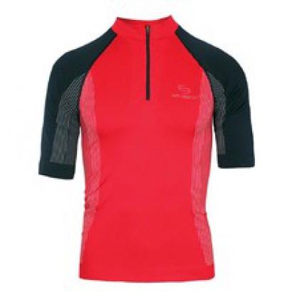 Brubeck Bicycle Cycling kerékpáros rövid ujjú trikó