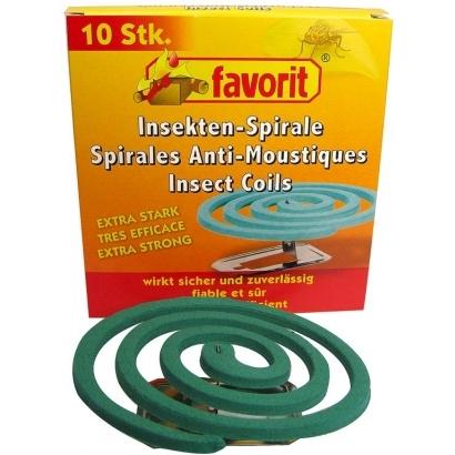 Basic Nature Moskitospiralen szúnyogriasztó spirál (10 darab)