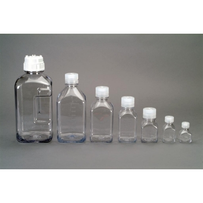 Nalgene Square Polycarbonat 500ml-es palack folyadék tárolására