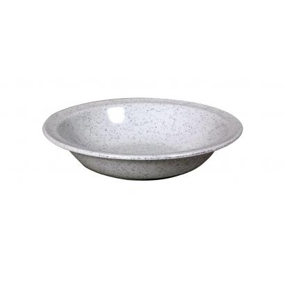 Waca Melamine Granite Soup Plate műanyag mélytányér