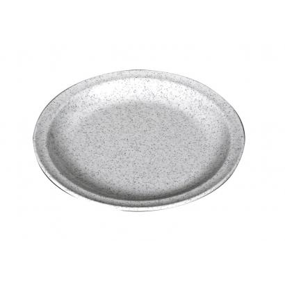 Waca Melamine Granite Plate Flat műanyag lapostányér