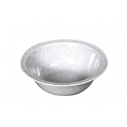 Waca Melamine Granite Bowl Big műanyag tál