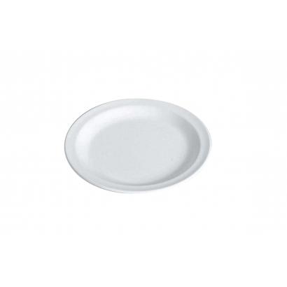 Waca Melamine White Plate Flat műanyag lapostányér