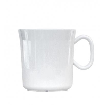 Waca Melamine White Mug 400 ml-es műanyag bögre