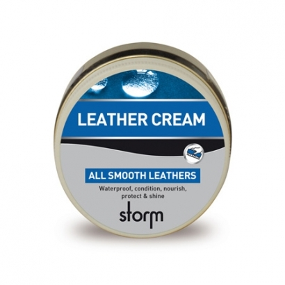 Storm Leather Cream Brown 100 ml-es cipőápoló szer