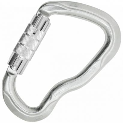 Kong Ferrata twist lock karabiner (alu zárral)