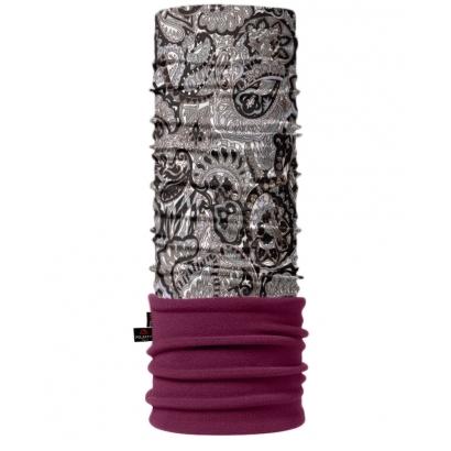 4Fun Carpet Grey Viola Polartec többfunkciós csősál