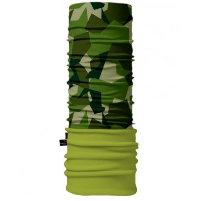 4Fun Camu Green Polartec többfunkciós csősál