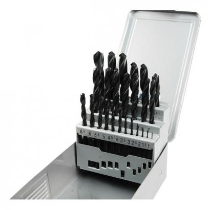 Extol Premium 8801192 fémcsigafúró készlet HSS DIN 338