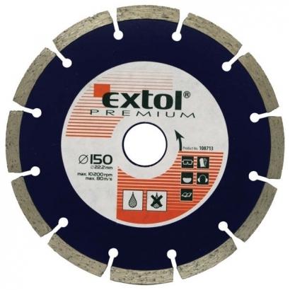 Extol Premium 108712 125×22,2mm-es gyémántvágó szegmenses