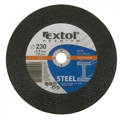 Extol Premium 8808112 125×1,6×22,2mm-es vágókorong acélhoz