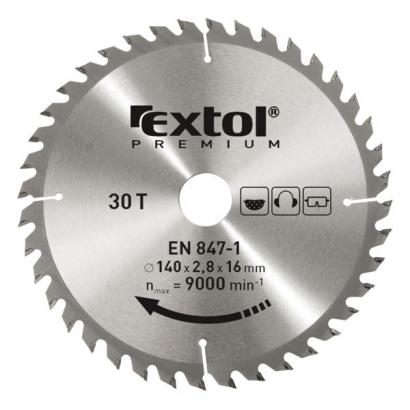 Extol Premium 8803217 165×20mm-es keményfémlapkás körfűrészlap