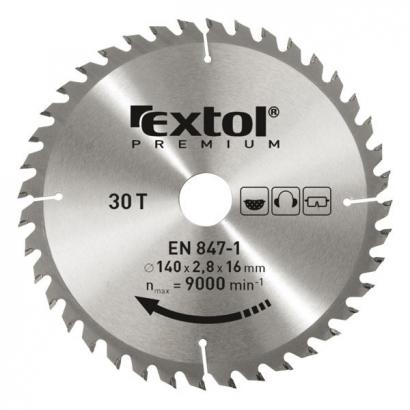 Extol Premium 8803225 185×20mm-es keményfémlapkás körfűrészlap