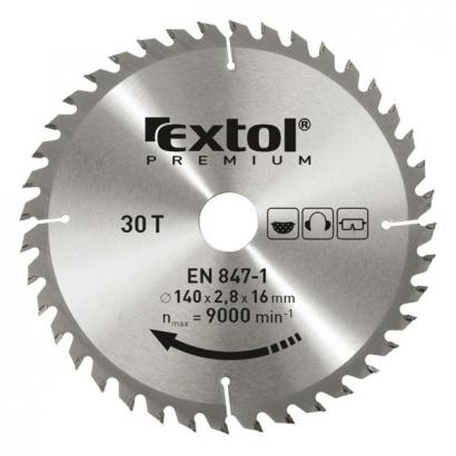 Extol Premium 8803250 350×30mm-es keményfémlapkás körfűrészlap