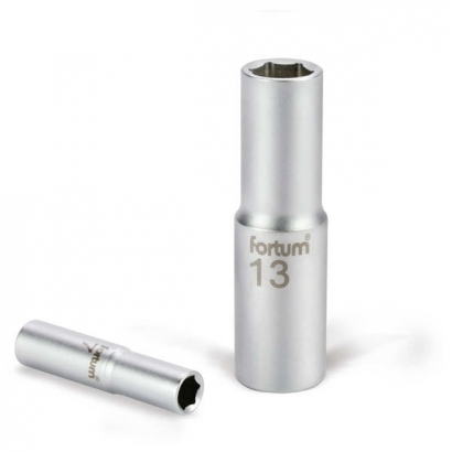 Fortum 4700510 1/2 colos 10mm-es hosszított dugófej