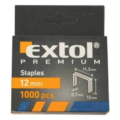 Extol Premium 8852504 12mm-es tűzőgépkapocs 1000db-os