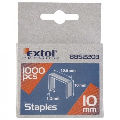 Extol Premium 8852203 10mm-es tűzőgépkapocs 1000db-os