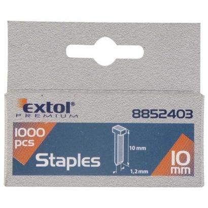 Extol Premium 8852404 12mm-es szeg fejjel tűzőgéphez 1000db-os