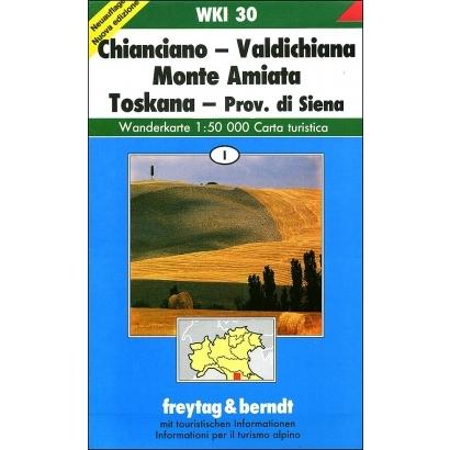 Freytag & Berndt Chianciano-Valdichiana-Monte Amiata túristatérkép
