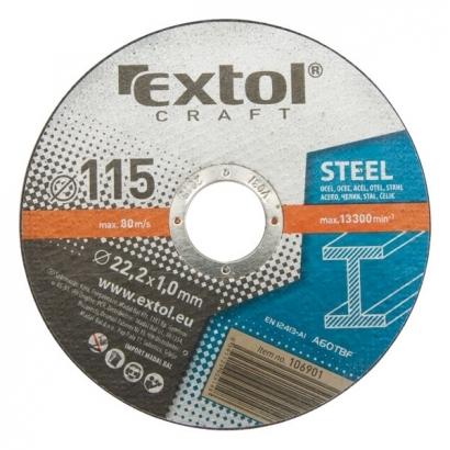 Extol Craft 106902 125×1,0×22,2mm-es vágókorong