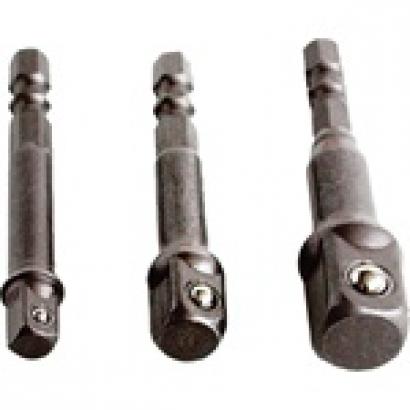 Extol Craft 32600 adapter dugókulcs készlethez Crv 3 db