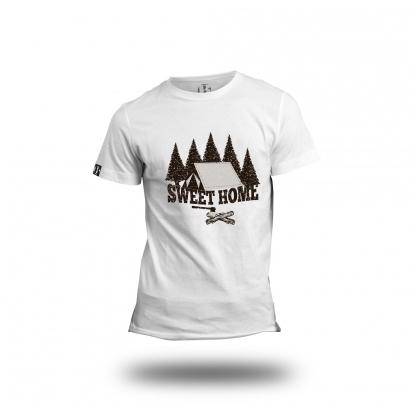 BAP Sweet Home férfi rövid ujjú póló