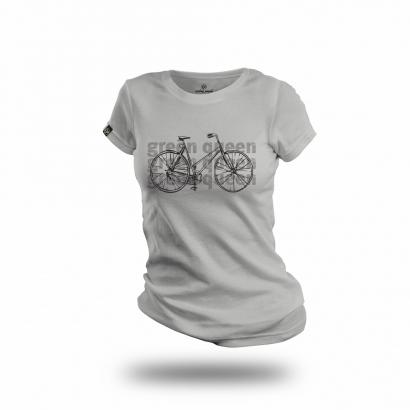 Cycling People Green Queen női póló