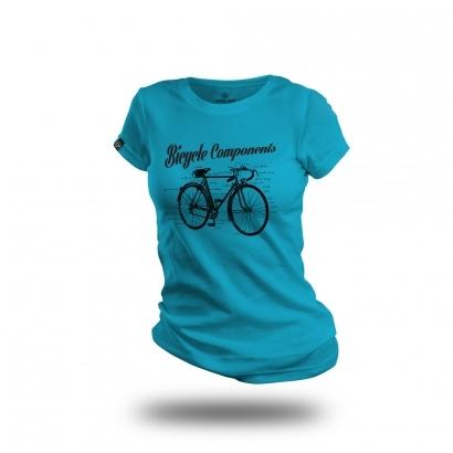 Cycling People Components női pamut póló