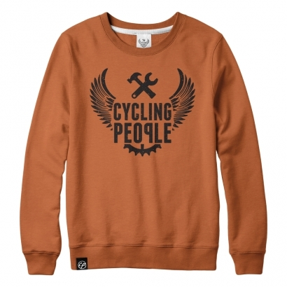 Cycling People Logo Wing Sweater férfi pulóver