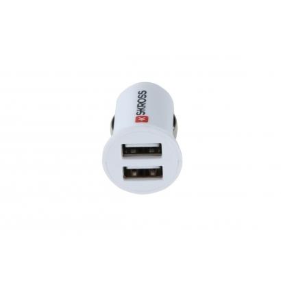 Skross Skross Charger 12V - 2 portos USB töltő adapter