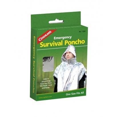 Coghlans Survival-Poncho izolációs mentőfólia