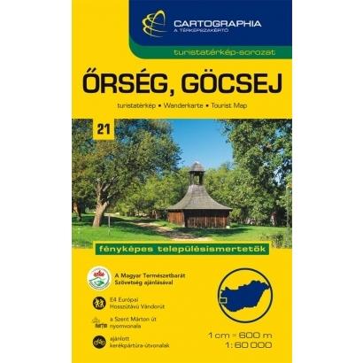 Cartographia Őrség, Göcsej turistatérkép