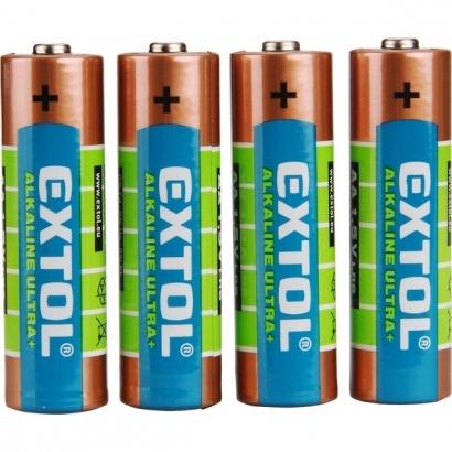 Extol Craft 42011 1,5 V alkáli elem 4 db AA