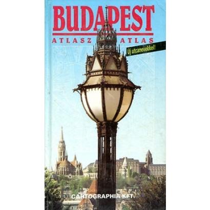 Cartographia Budapest atlasz
