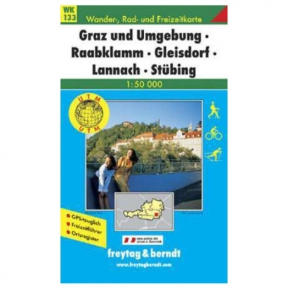 Freytag & Berndt Graz és környéke turistatérkép