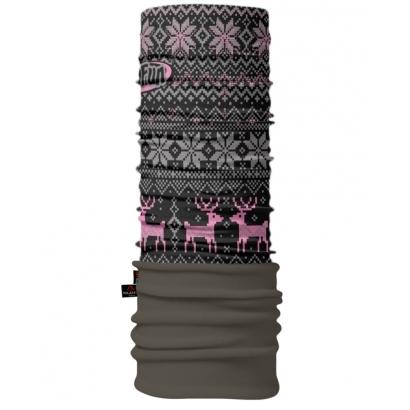 4Fun Deer Pink Polartec többfunkciós csősál