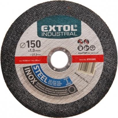 Extol Industrial 8701010 fémvágó, ipari korong