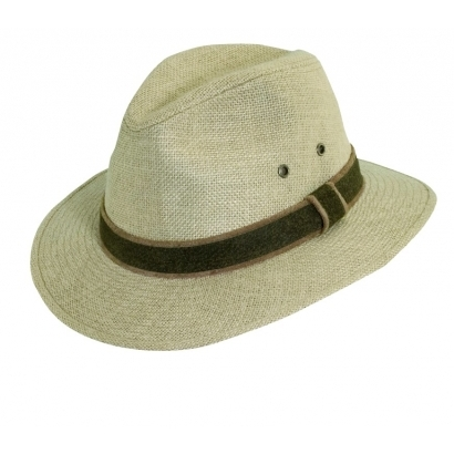 Basic Nature Hemp-Hat Safari férfi kalap