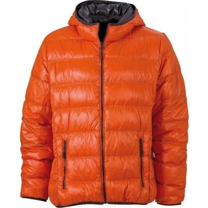 James & Nicholson férfi kapucnis pehely dzseki