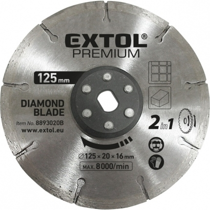 Extol 8893020B gyémántvágó korong