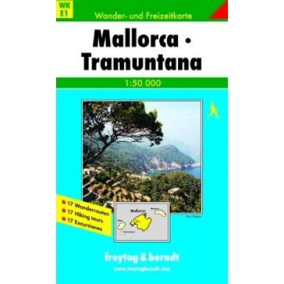Freytag & Berndt Mallorca Tramontana turistatérkép