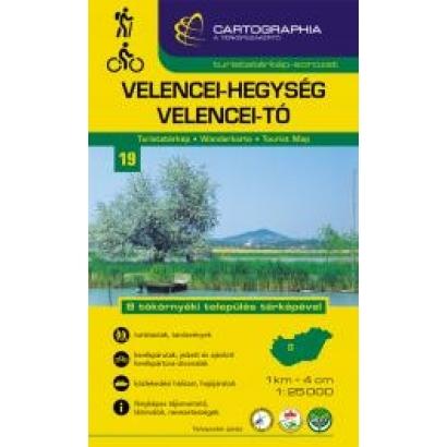 Cartographia A Velencei-tó és környékének turistatérképe