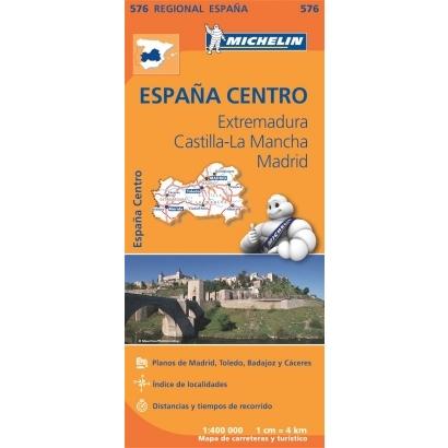 Michelin Extremadura, Castilla-La Mancha, Madrid autóstérkép