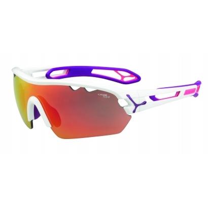 Cébé S Track Mono cserélhető lencsés napszemüveg - M - matt white