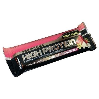 EthicSport Potenza High Protein vanília-eper szelet