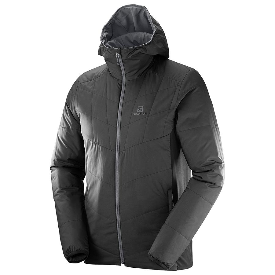 Salomon Drifter Mid Hoodie kifordítható férfi kabát - Férfi ruházat ... 9ddce96220