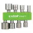 Extol Craft 10213 behajtó készlet hatlapfejű csavarokhoz