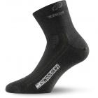 Lasting WKS gyapjú zokni (Fekete)